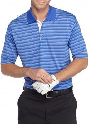 cf50c18d6c Pebble Beach™ Men's Classic-Fit Shadow-Striped Performance Golf Polo Shirt  - - No Size