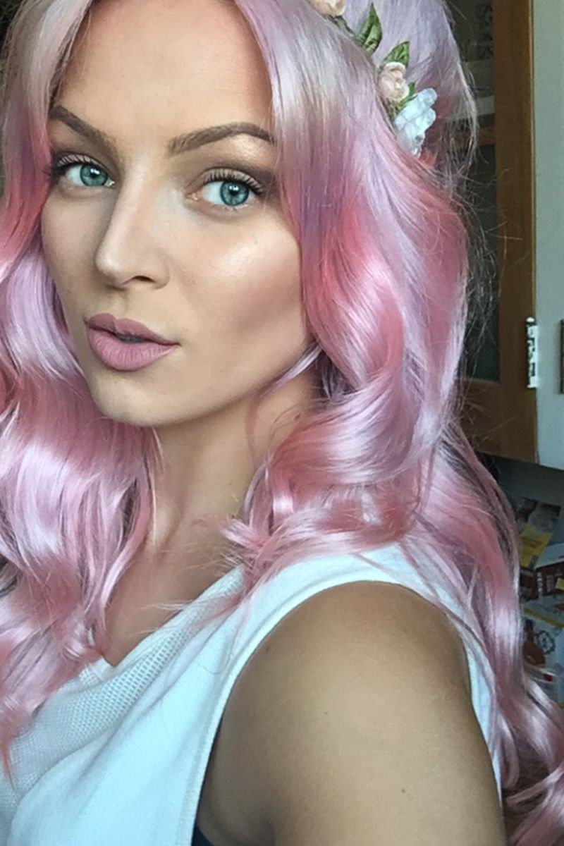 How To Get Pastel Pink Hair Using Ion Color Brilliance Dyes