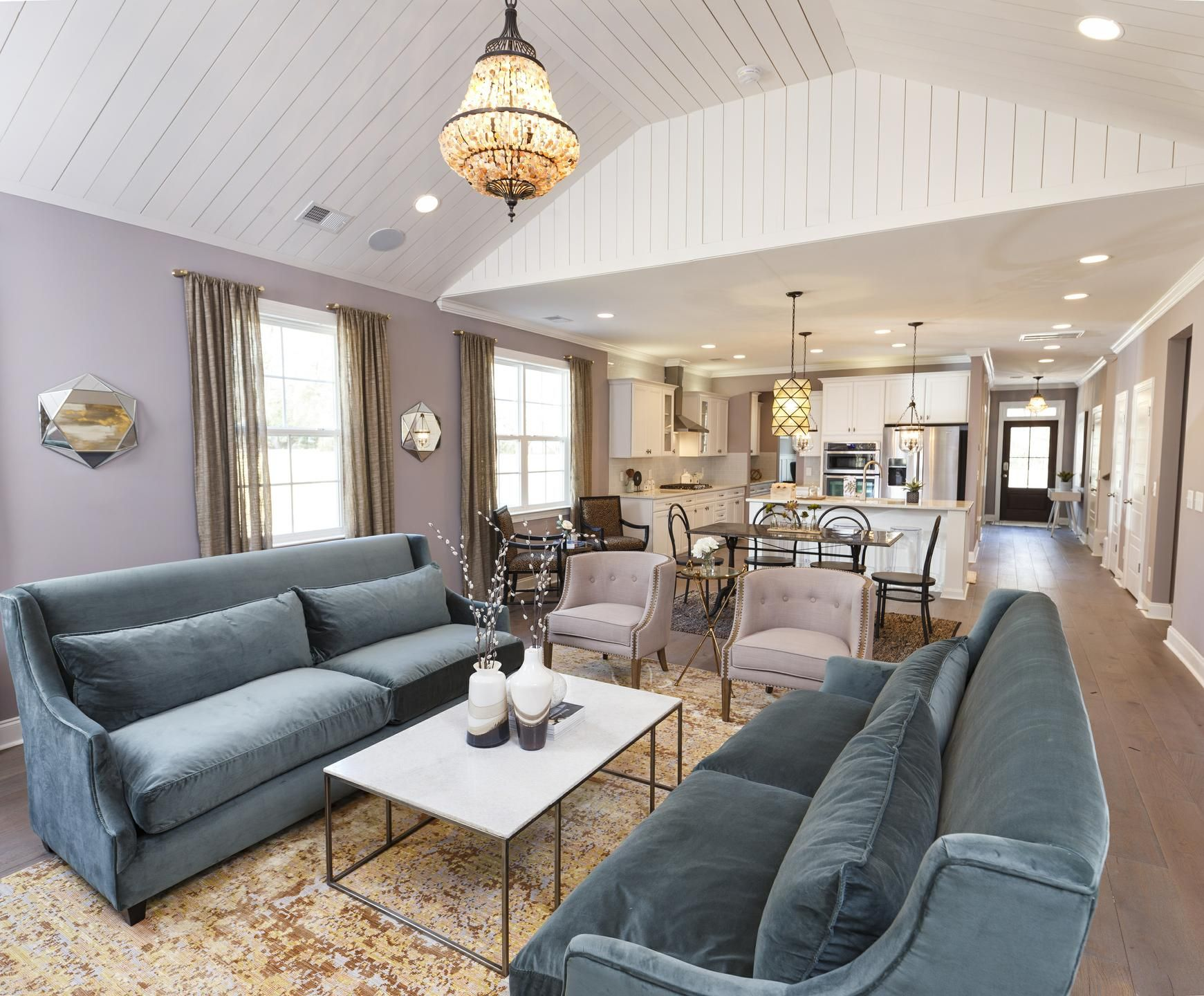 Room For Friends And Family In This Lavish Living Room By