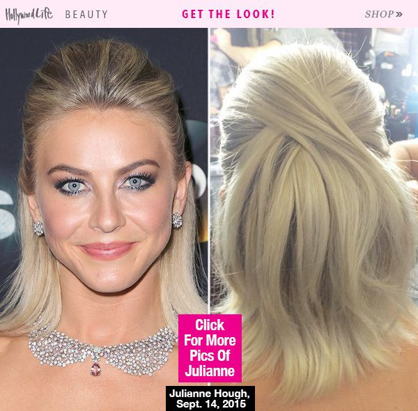 'Dancing With The Stars' season 21 is underway, and with the new season comes a lot of new beauty looks from judge Julianne Hough. Get the details on her premiere half up, half down hairstyle.