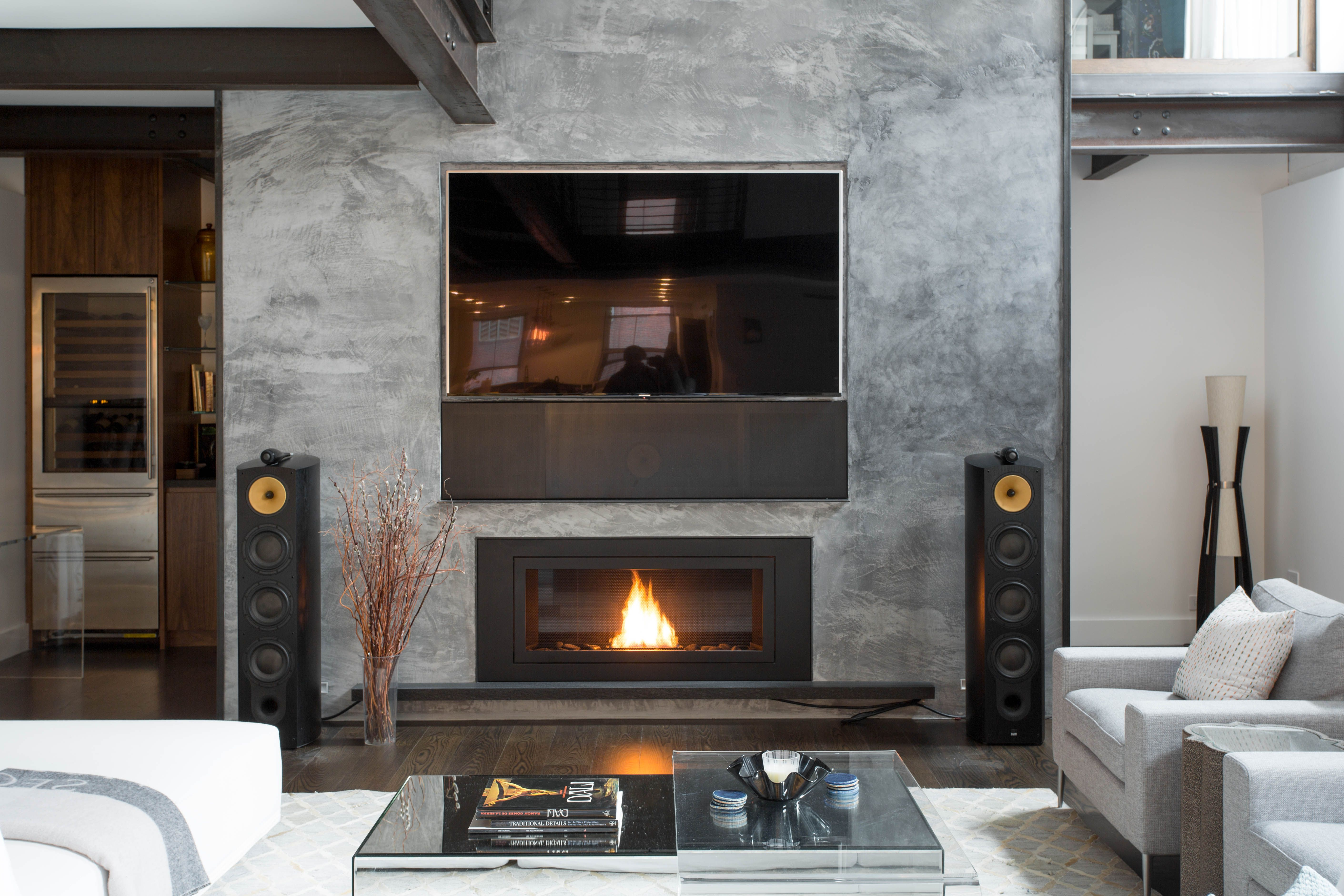 Beautiful Project By Ernst Architects Pllc Ventless Fireplace