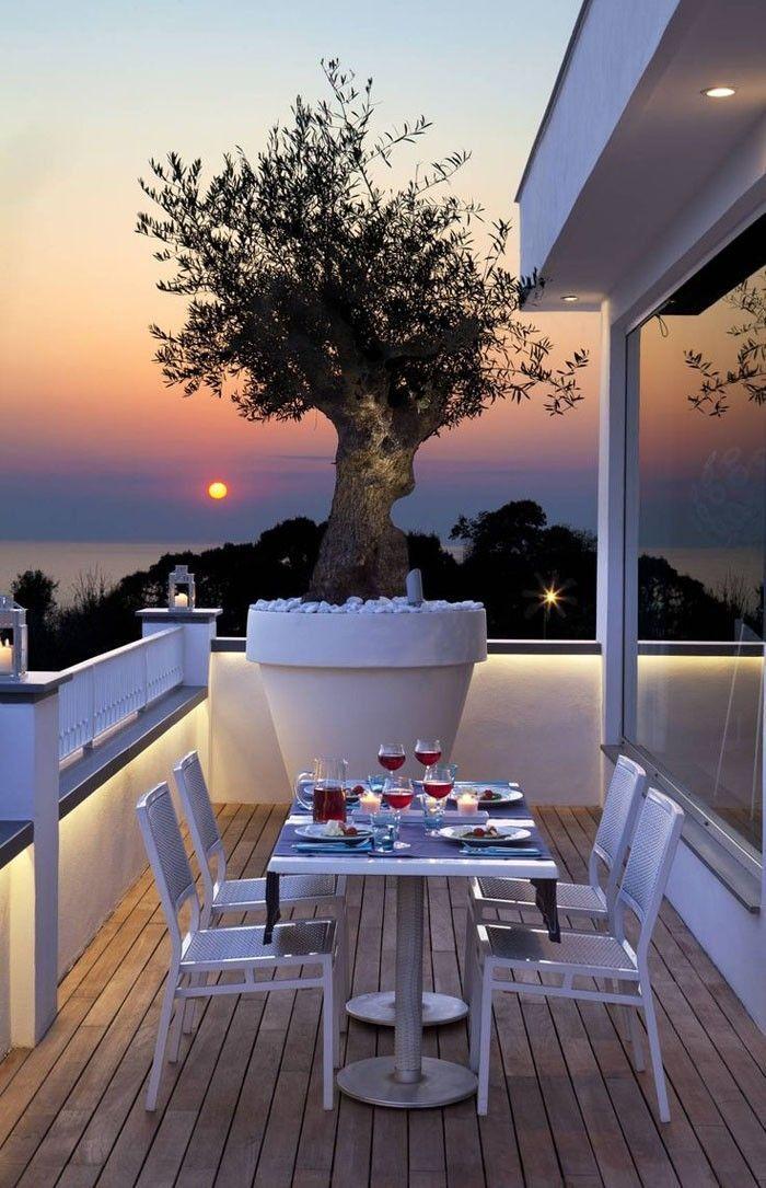 77 coole Ideen für platzsparende Möbel, womit Sie kokett den kleinen Balkon gestalten - Meike... #smallbalconyfurniture