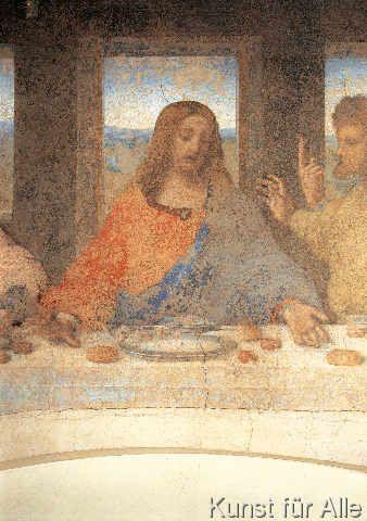 Leonardo da Vinci - Das Abendmahl