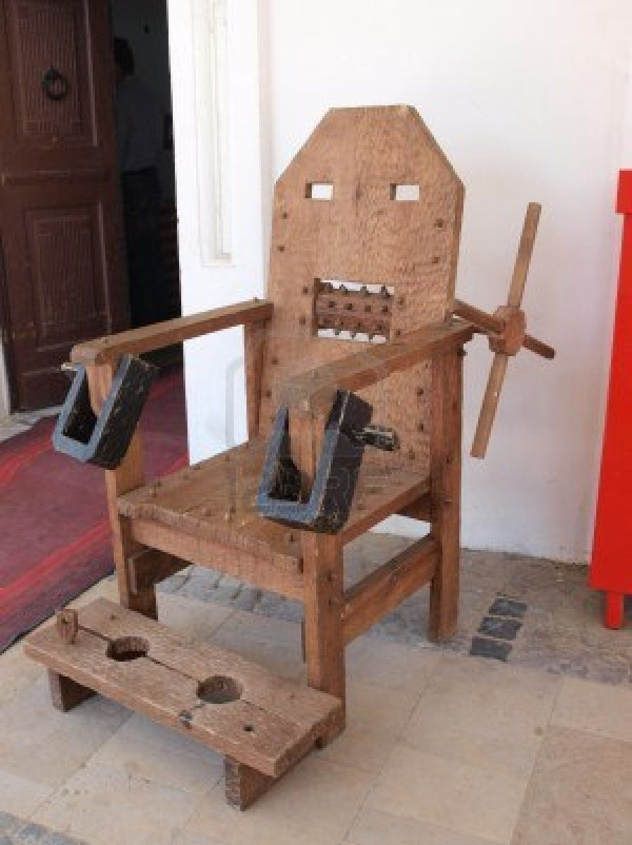 Torture Chair Torture Chair Pinterest – The Tickle Chair