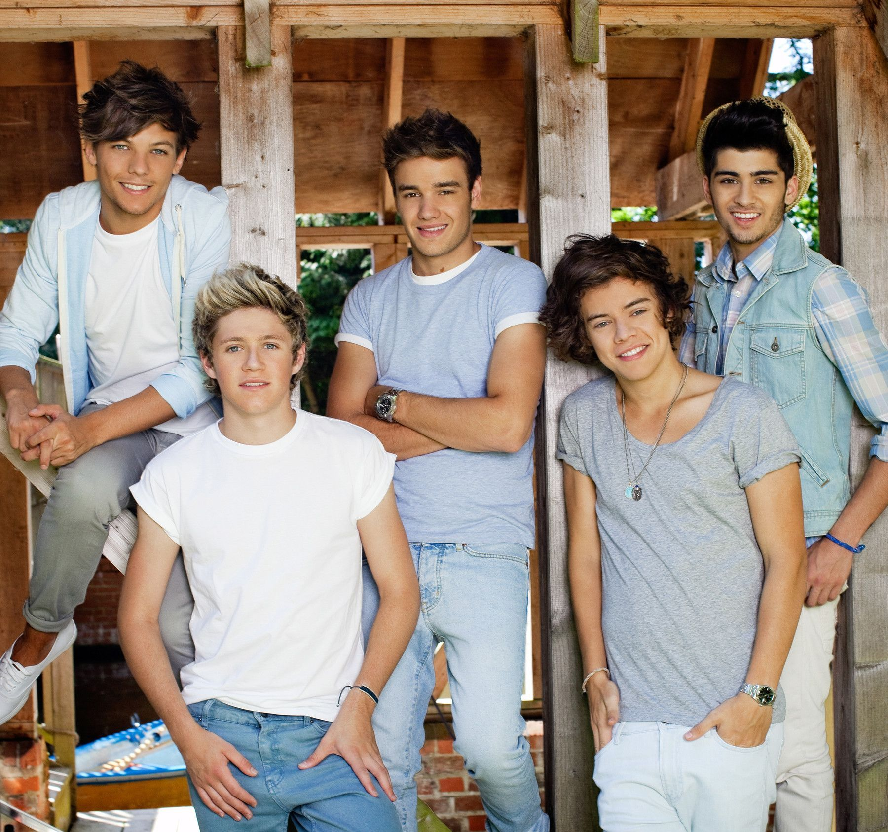 One Direction Barn Wall Mural #onedirection2014
