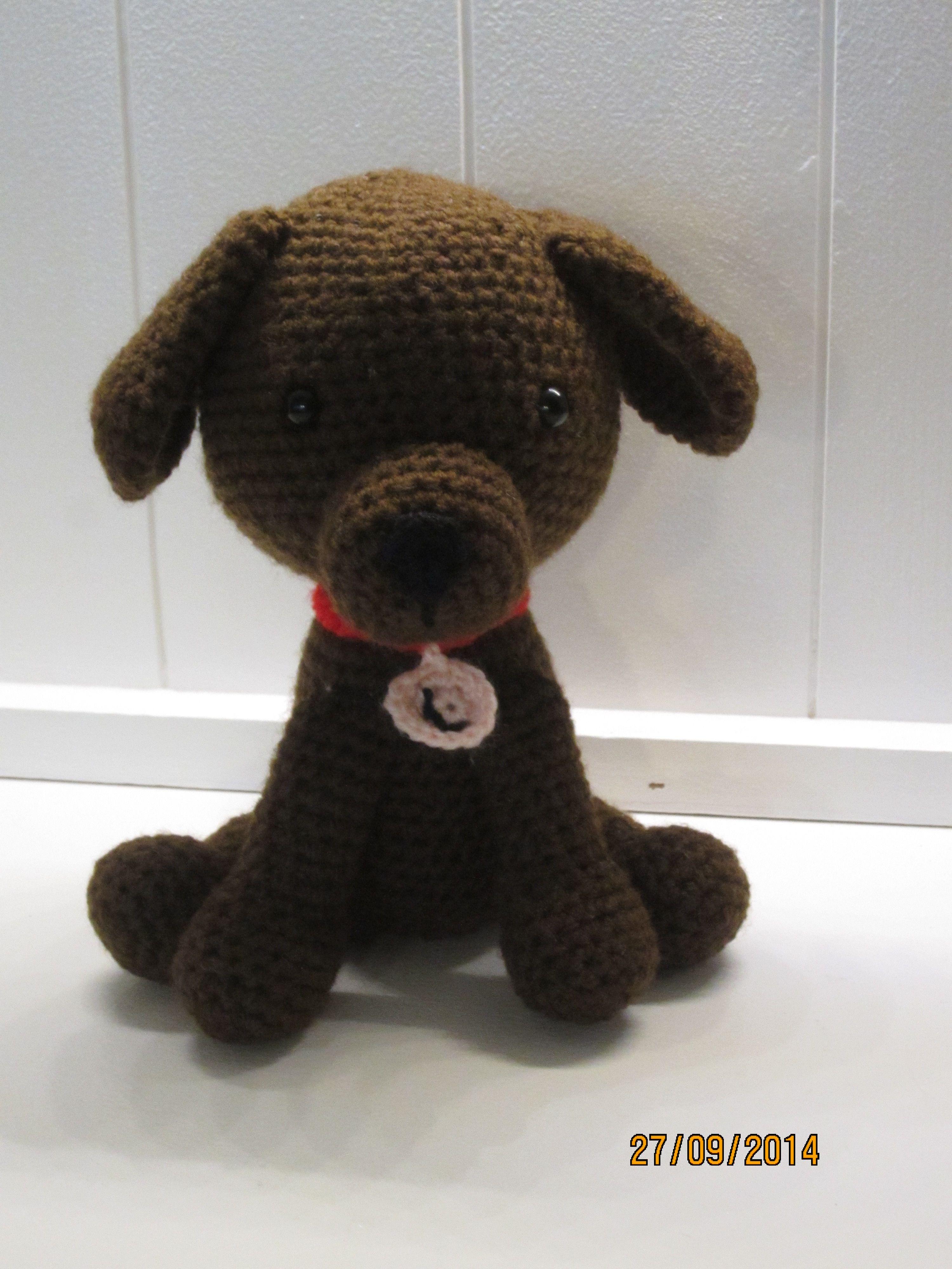 Lille Luna er en kopi af en labrador formel1, som jeg har lavet til nogle venner
