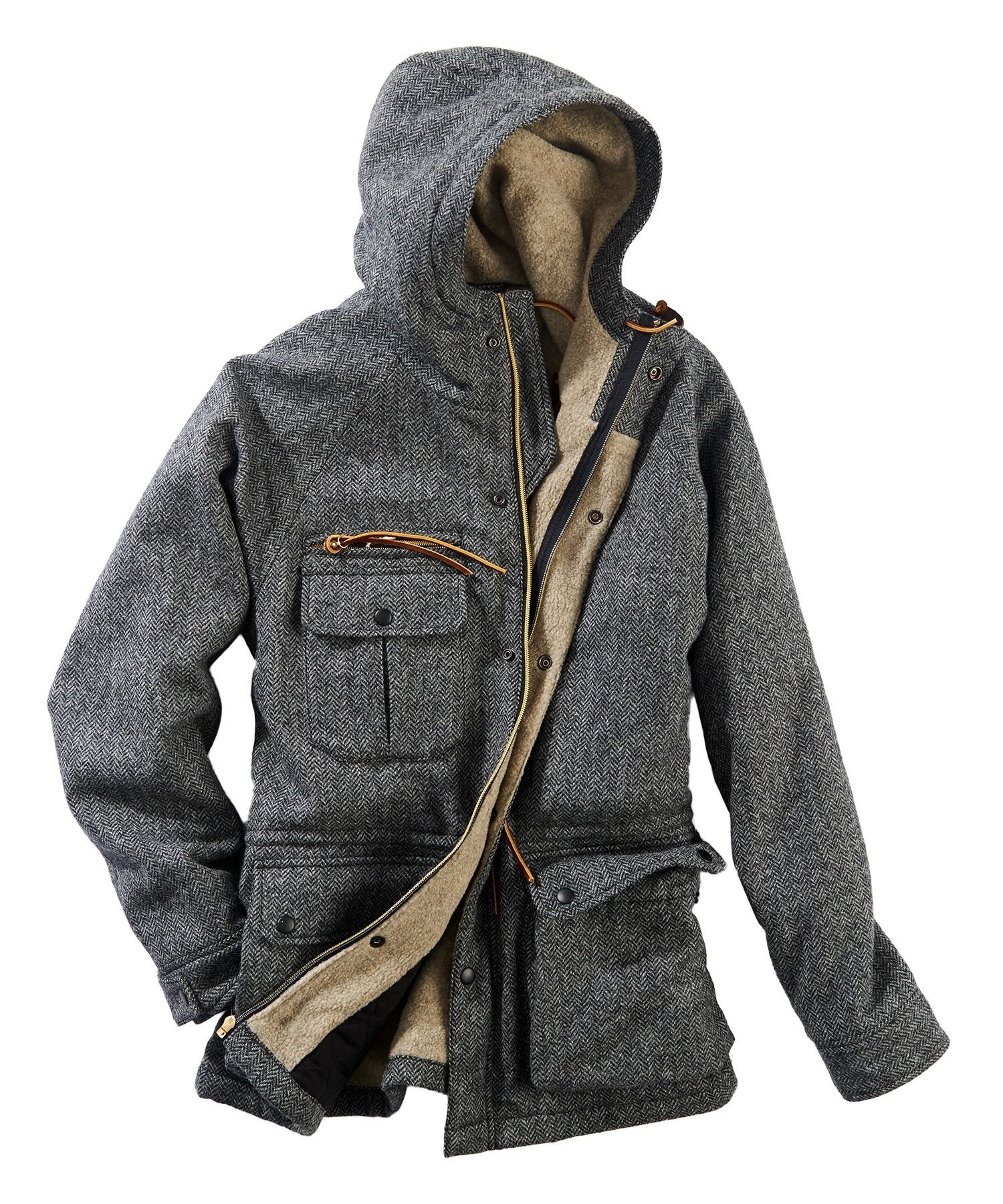 Men s Wool Mountain Parka by WOOLRICH® The Original Outdoor Clothing Company 755abf5a154