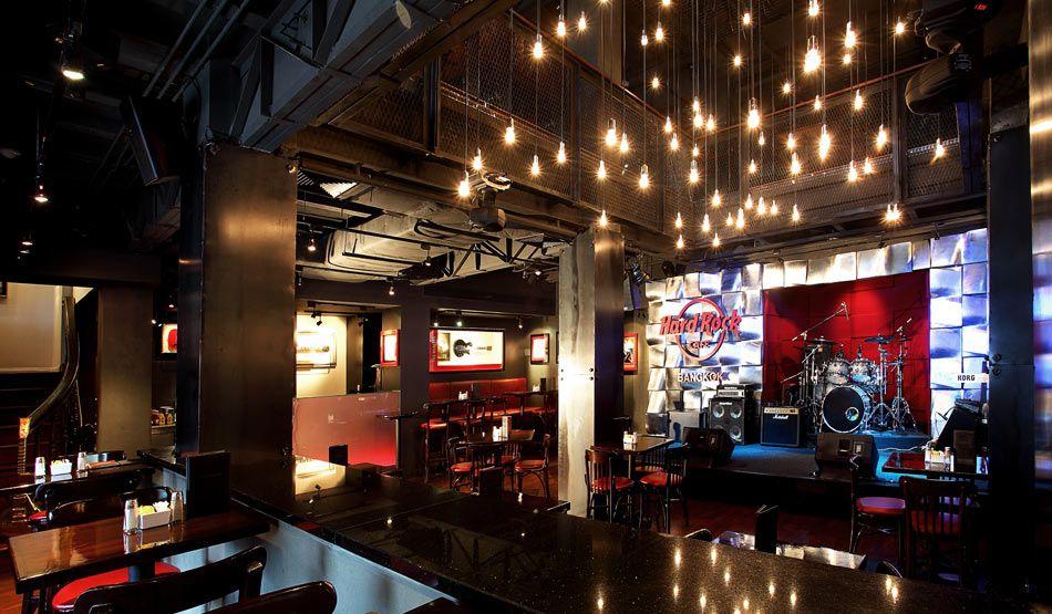 cafe interior photos Hard Rock Cafe Design Summary restaurant