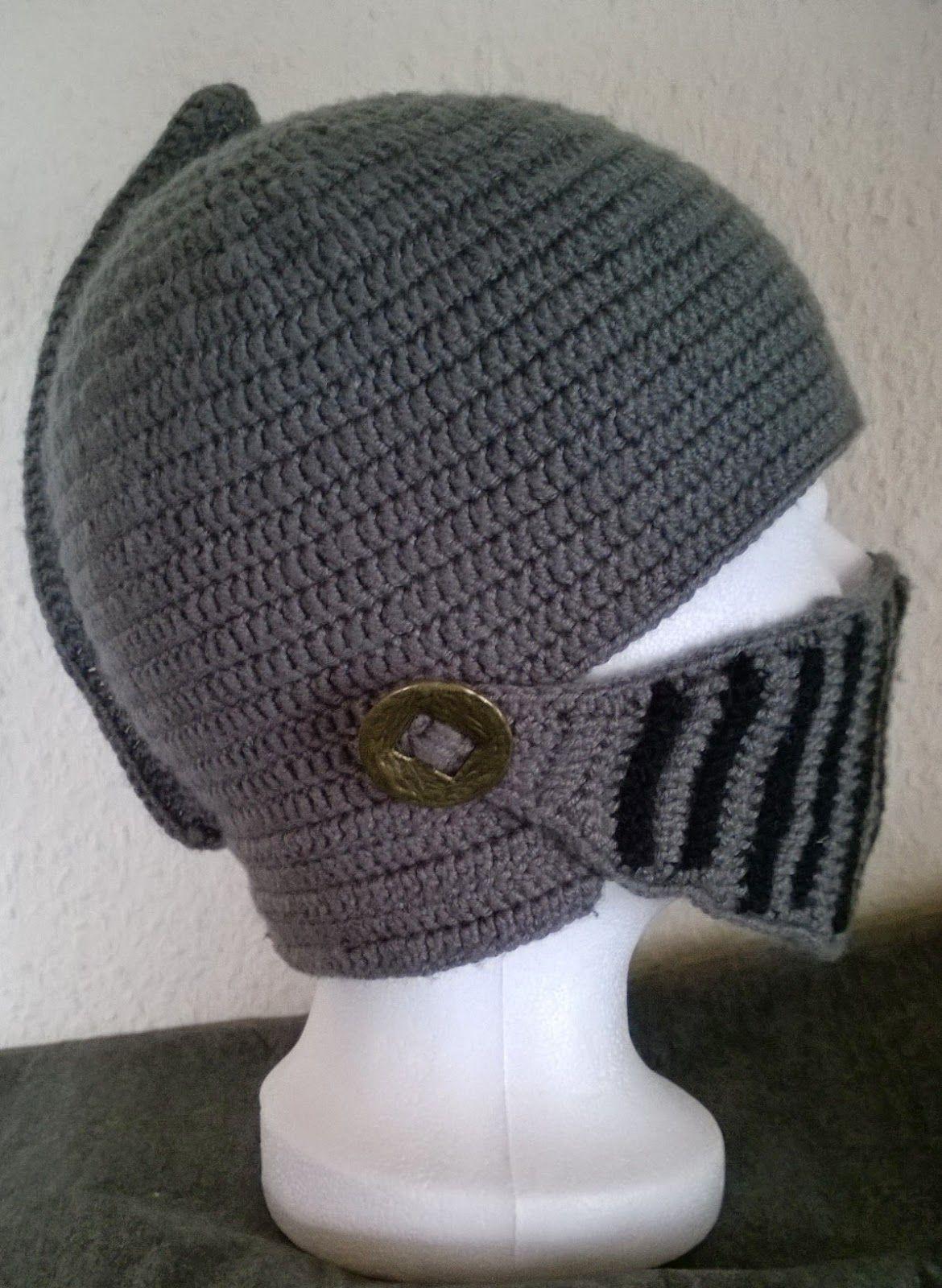 Minervas Handarbeit: Helm - Mütze | Knitting | Pinterest | Mütze ...