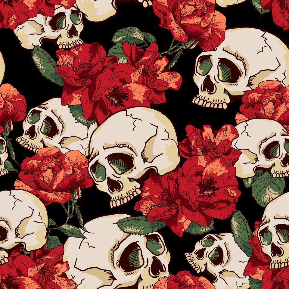 Wallpaper Iphone Tumblr Caveira