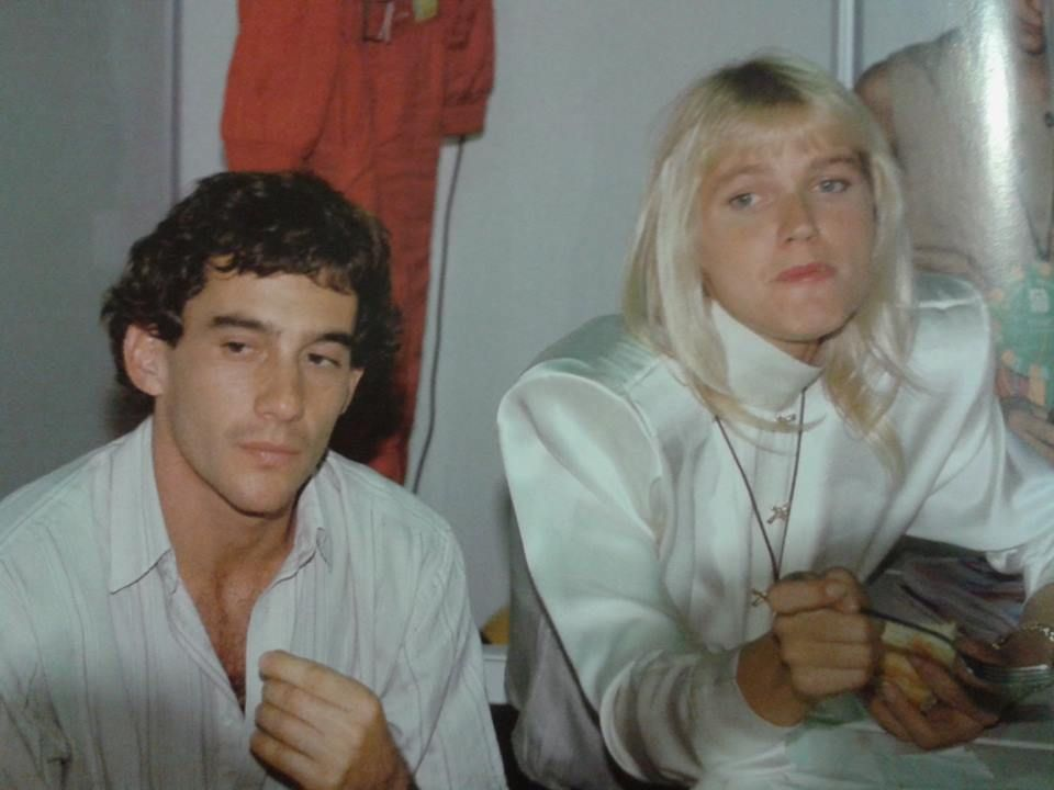 Resultado de imagem para Ayrton Senna xuxa