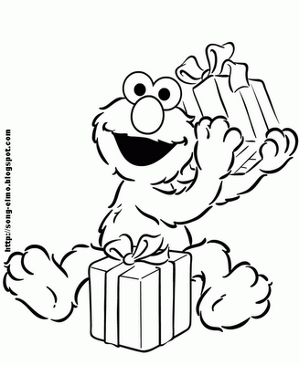 Elmo Coloring Pages | Party :: Sesame Street :: | Pinterest | Elmo ...