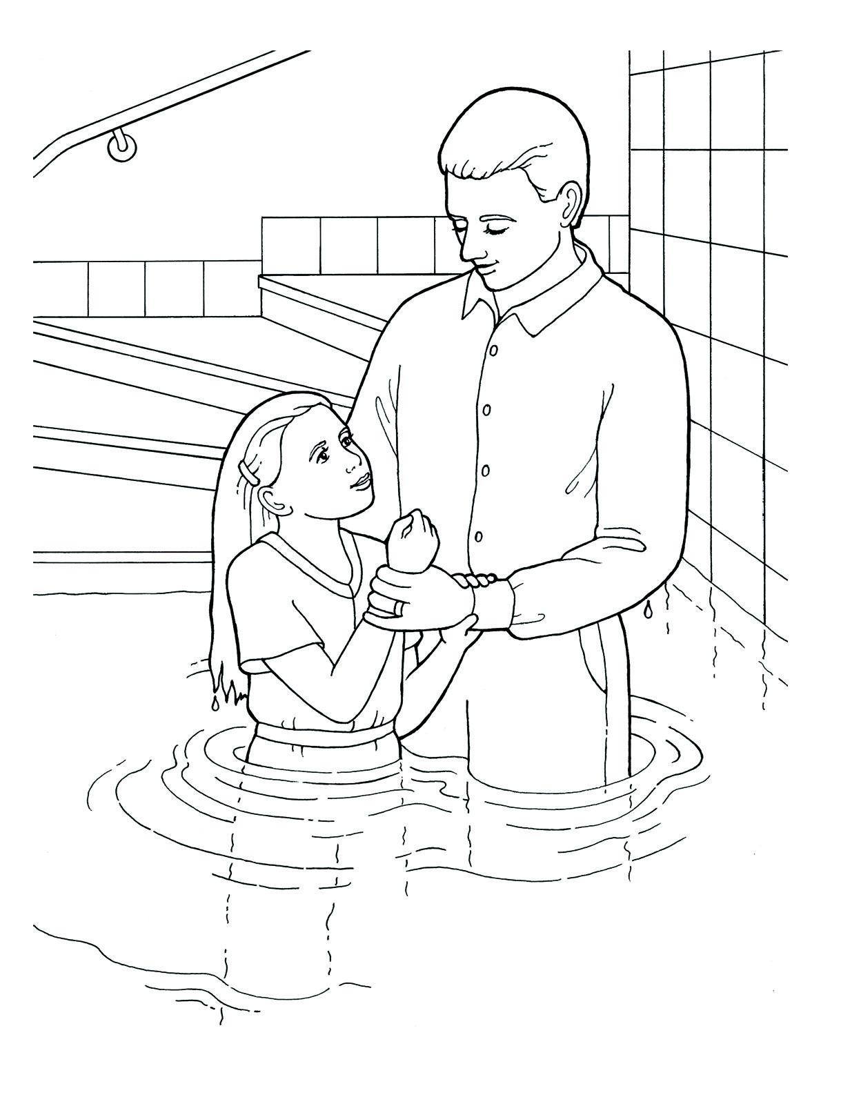 Baptism day! Primary coloring page. #lds #ldsprimary http://www.lds ...
