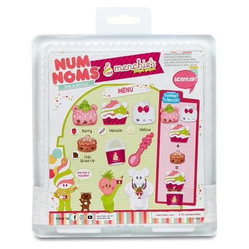 Num Noms Menchie S Frozen Yogurt Starter Pack Mga Entertainment