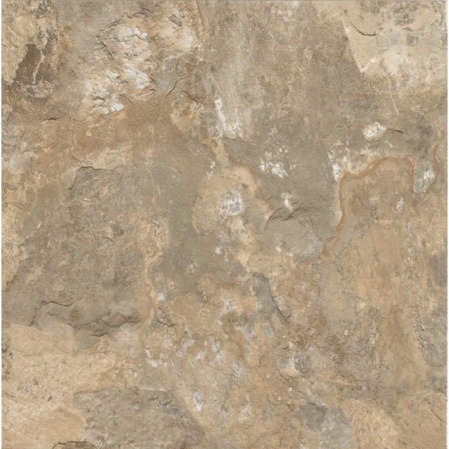 """Armstrong 12"""" x 12"""" Crescendo Stone Beige Limestone Finish"""