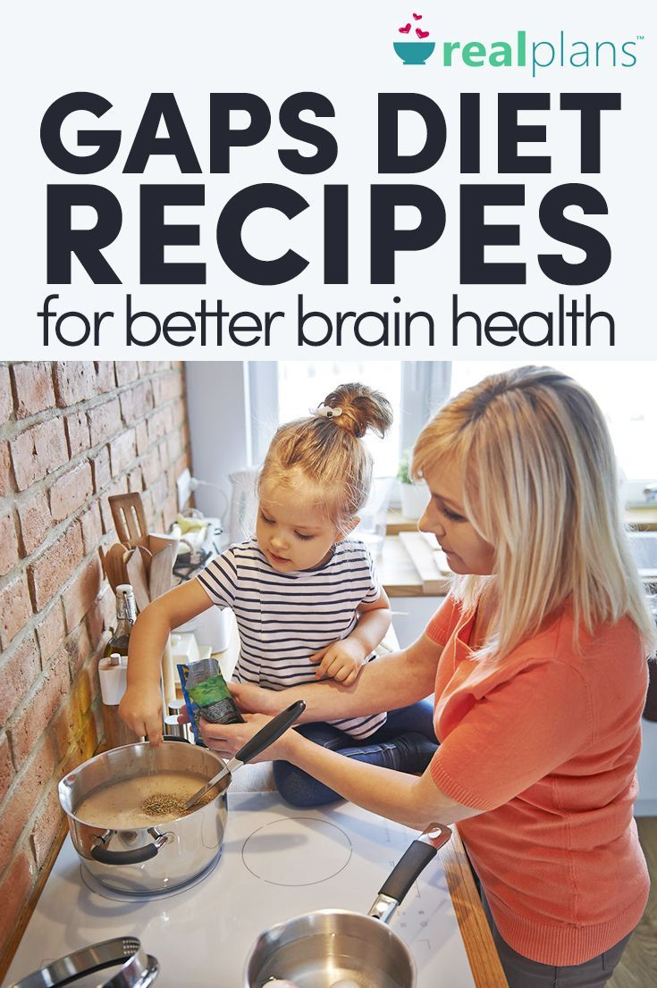 GAPS Diet Recipes For Better Brain Health - Real Plans -   7 diet Quotes indonesia ideas