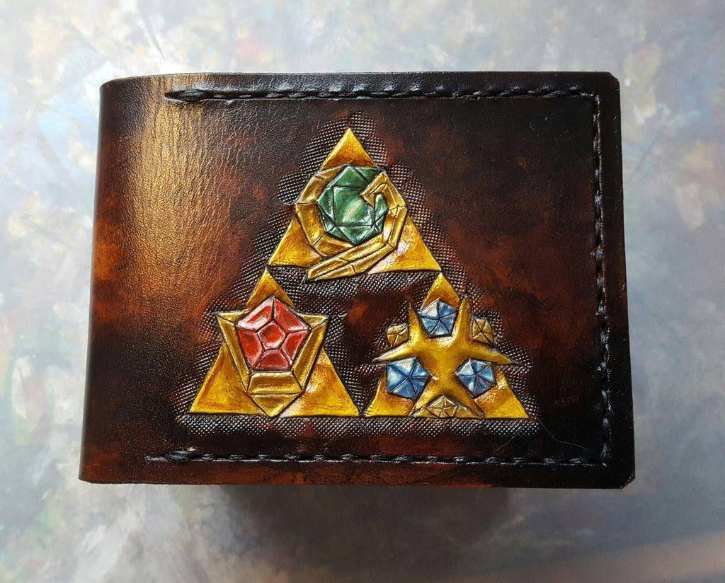 Legend of Zelda Wallets made by TurtleVillageCrafts