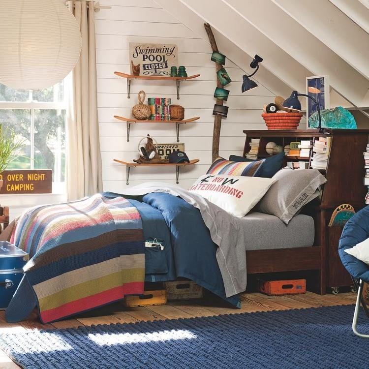 Jugendzimmer selber bauen  Jugendzimmer einrichten - Skateboard-Regale selber bauen ...