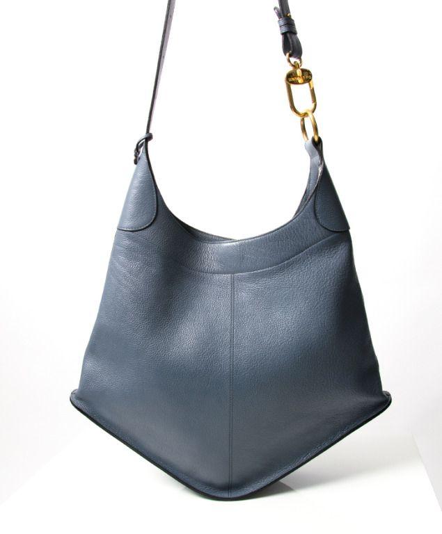 e19cec79fa Delvaux  Satan  Light Blue Bag