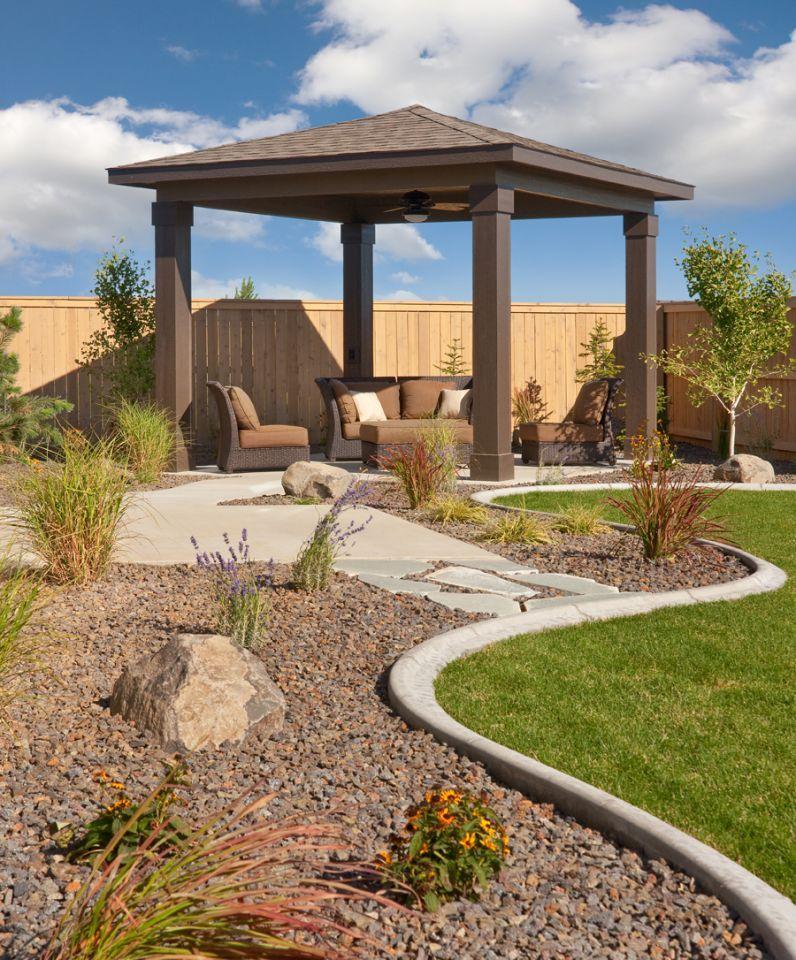 everson detached patio cover backyard