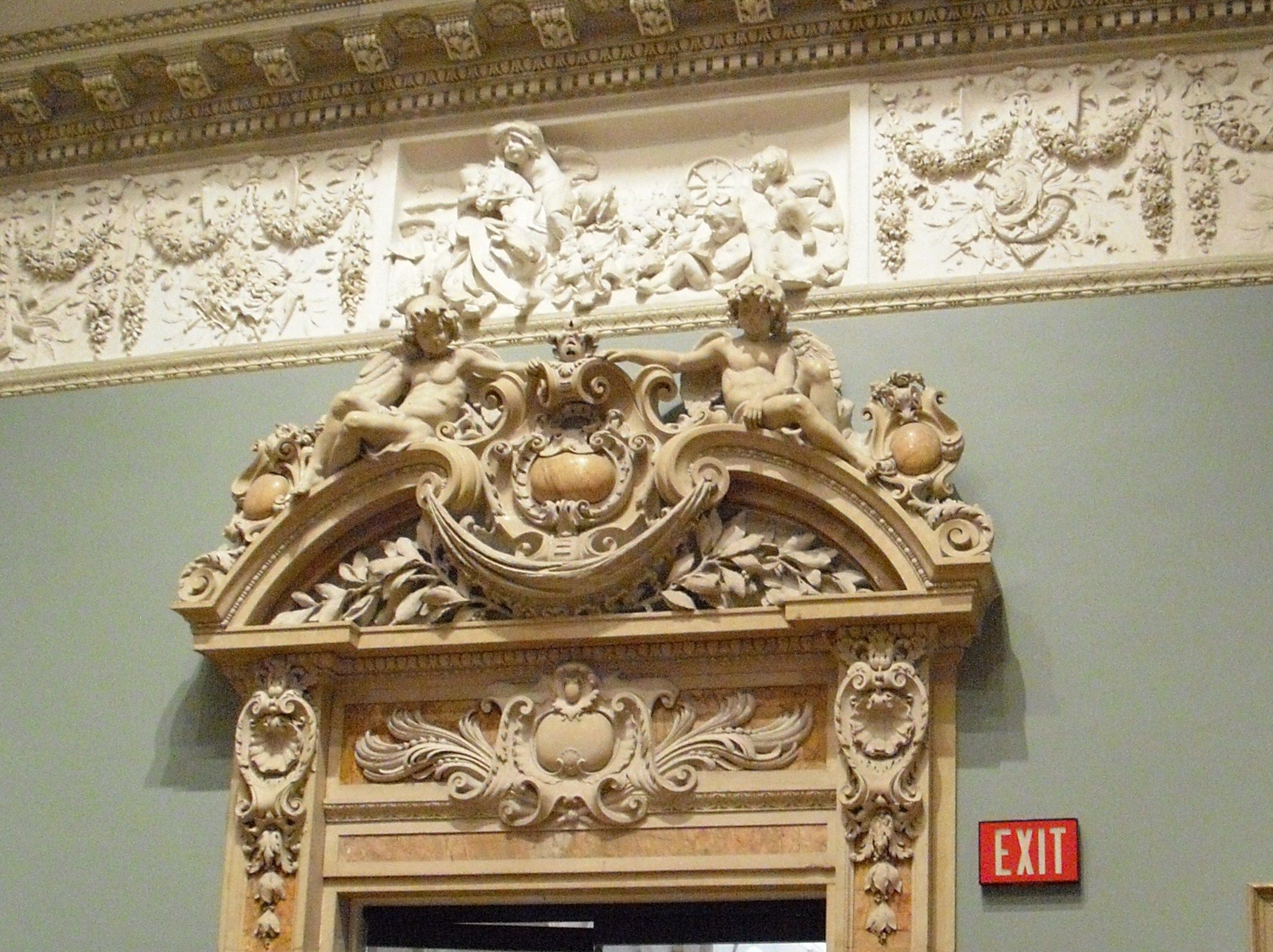 Above door door ways and murals pinterest
