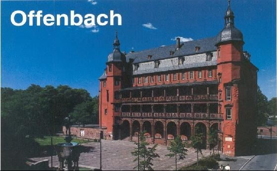 Offenbach Germany Offenbach Am Main Maine
