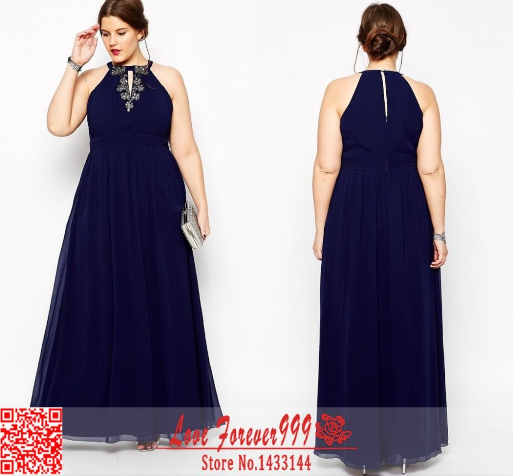 navy blue plus size formal dresses gallery - dresses design ideas