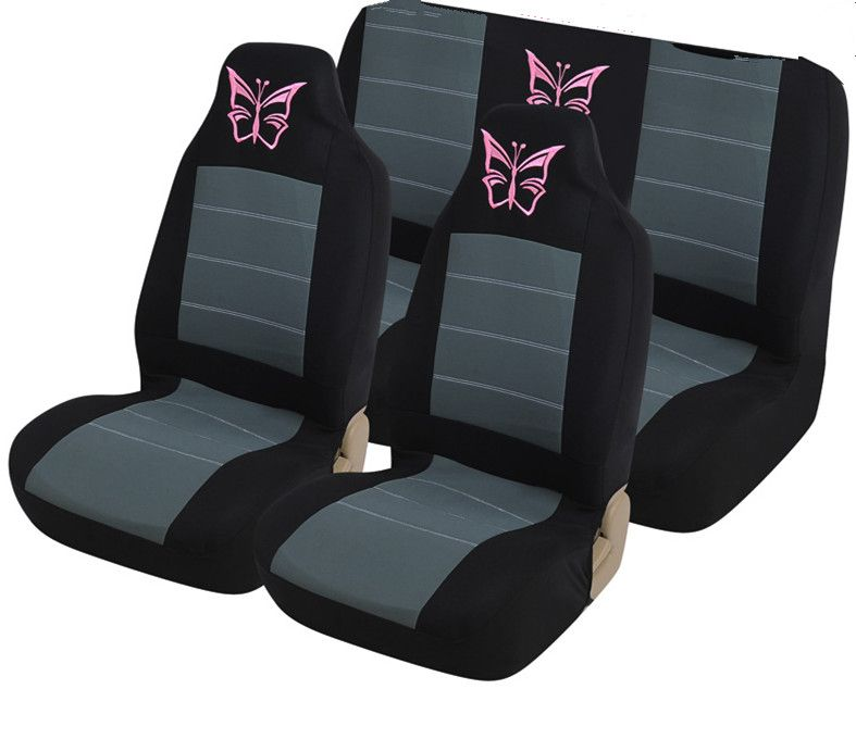 Car Universal seat covers beautiful butterfly Car styling Auto ...