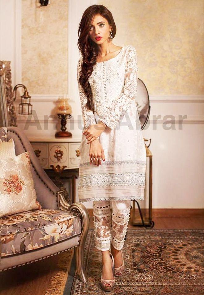Latest Collection Pakistani Kurta Designs For Ladies 2017 -5691