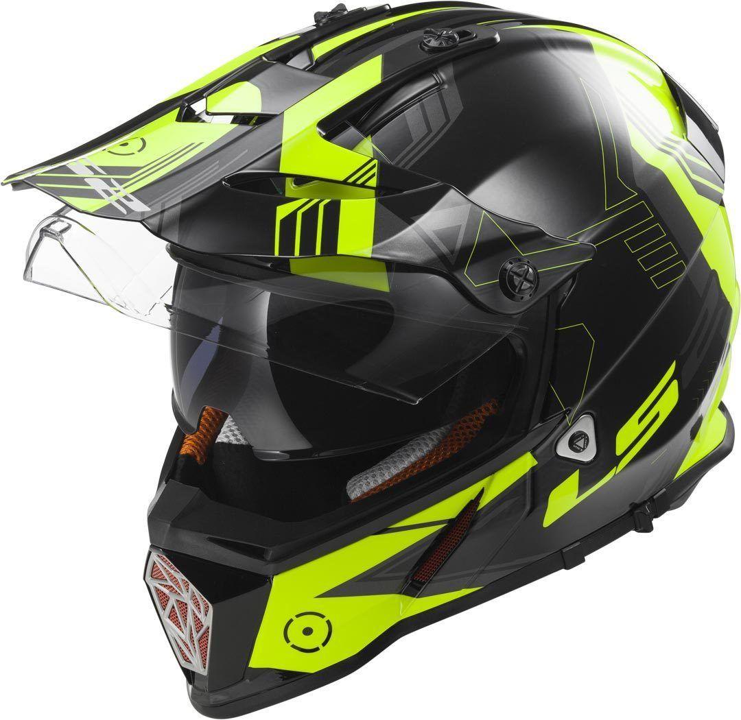 LS2 Pioneer MX436 Trigger Helmet Helmet, Bike rider, Bike