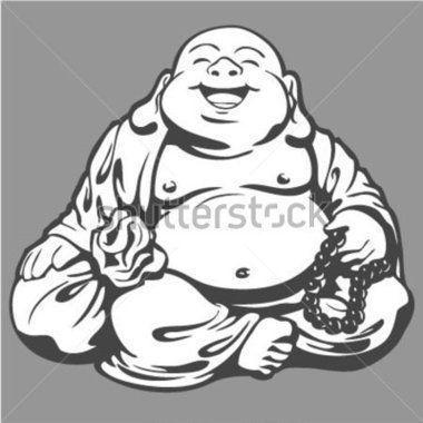 Bouddha DE Joie (vecteur) image vectorielle - Clipart.me | bouddha ...