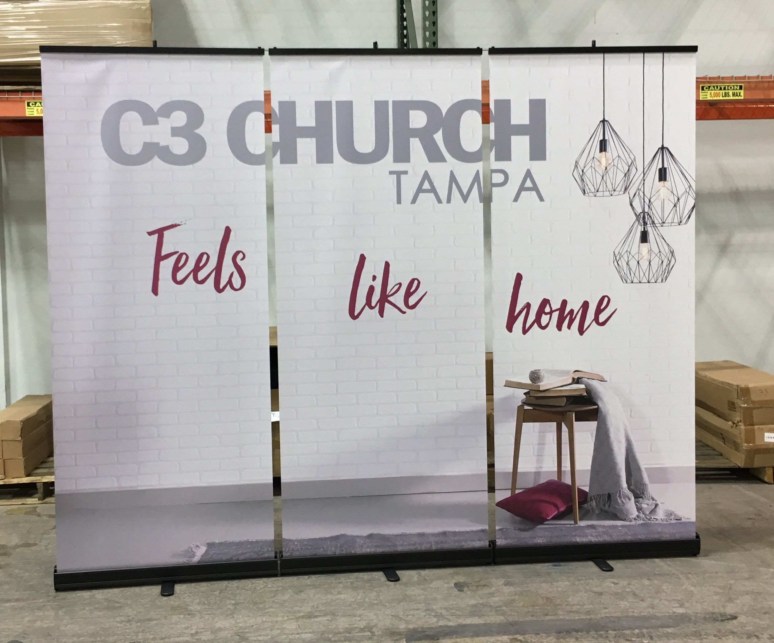Banner Stand Wall Church Banners Church Interior Design Church Stage Design