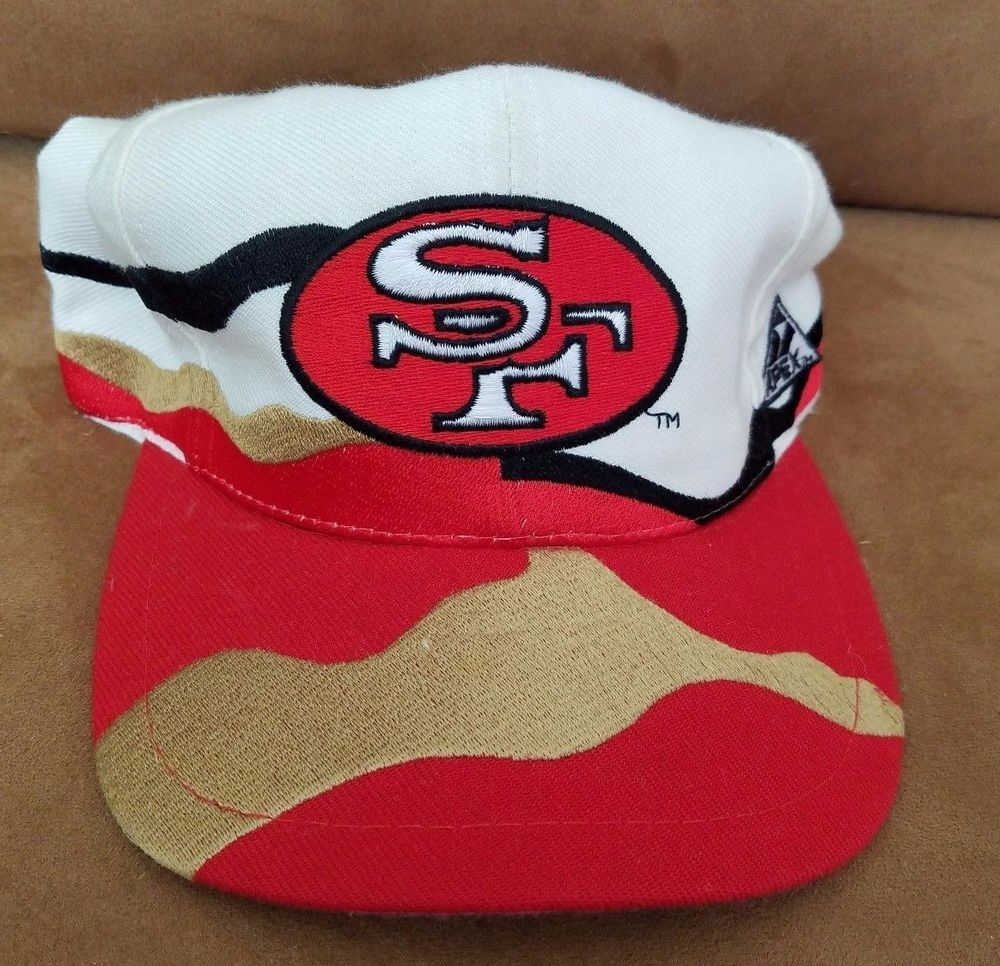 380faf50bc8 Vintage San Francisco 49ers Splash Snapback Hat Cap NFL Logo Athletic Pro  Line  Apex  SanFrancisco49ers