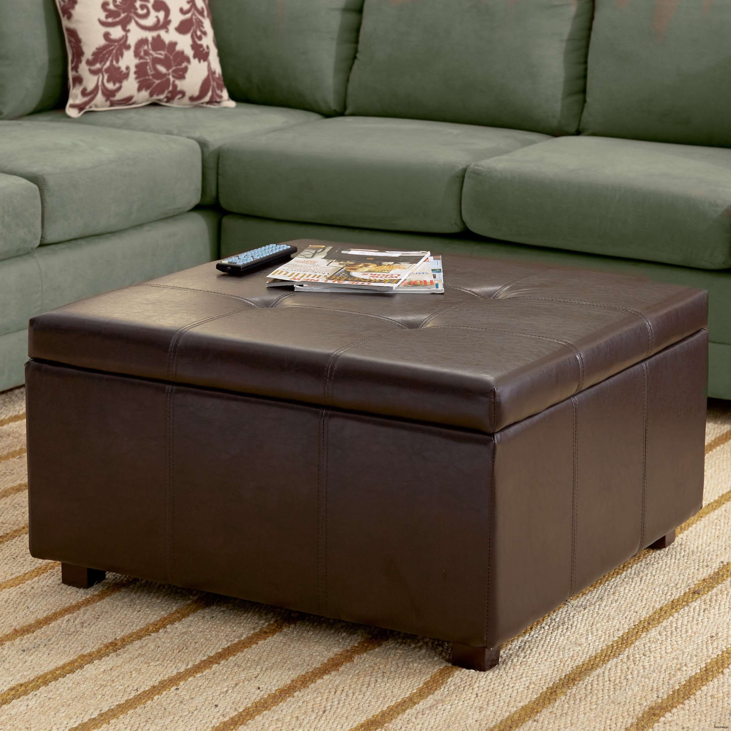 Extra Large Leather Ottoman Coffee Table Download Square Pouf Blue Storage Ottoman Extra Kohl [ 2523 x 2523 Pixel ]