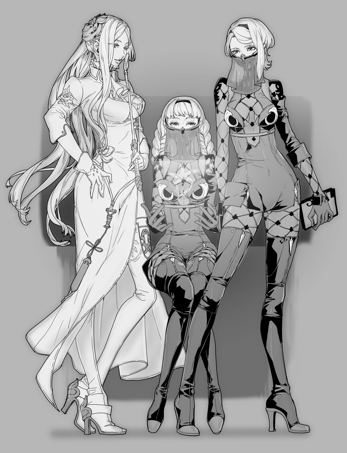 YoRHa Unit Commander, Operators 6O and 21O