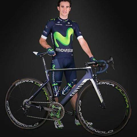 Dani Moreno estará presente en el Tour de San Luis como líder del Movistar.