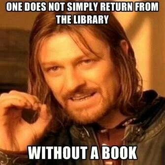 Aragorn Loves Books