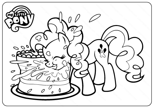 My Little Pony Pinkie Pie Coloring Pages My Little Pony Coloring My Little Pony Twilight My Little Pony Drawing