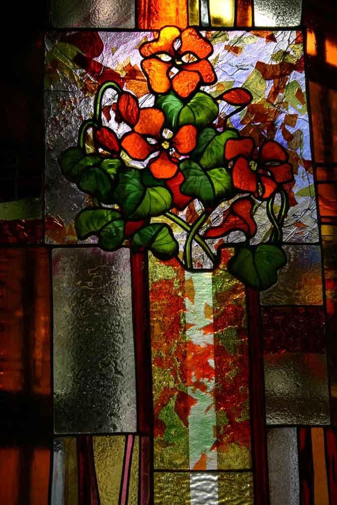 galerie christiane andrieux la maison du vitrail