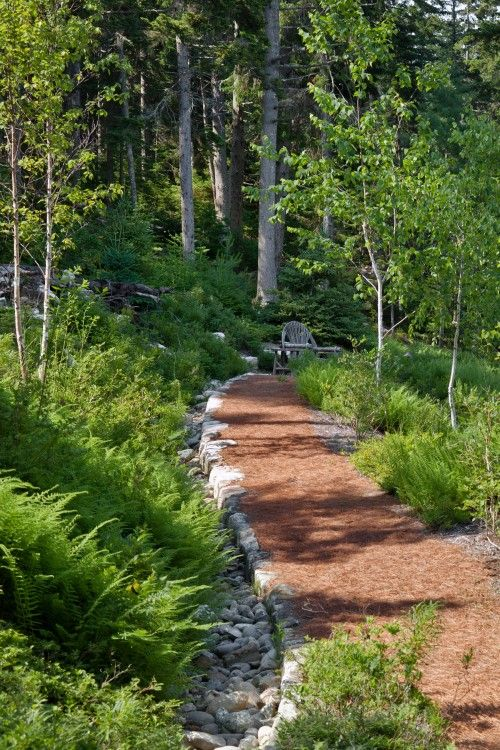 I love this path, just like the ones in a state park.