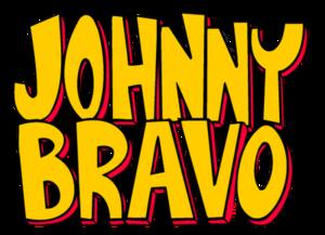 A Johnny Bravo Logo Johnny Bravo Johnny Bravo Cartoon Tv Show Logos