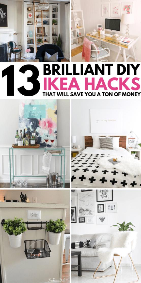 13 Diy Ikea Hacks To Transform Your Furniture On A Tiny Budget
