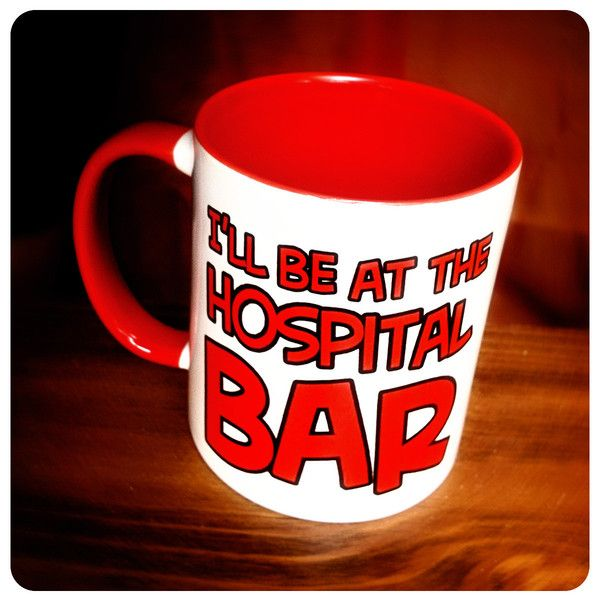 #LucilleBluth - Hospital Bar Mug - #ArrestedDevelopment | PeachyApricot