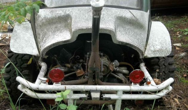 Carolina Yard Art: VW Baja Bug Project | Vw baja bug, Baja ...