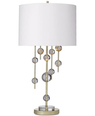 Macys Table Lamps Beauteous Closeout Kathy Ireland Homepacific Coast New York Mod Table Review