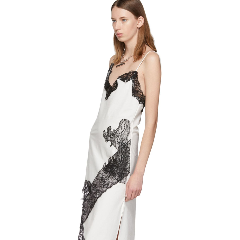 Marques Almeida White Lace Slip Dress Ssense Lace Slip Dress Lace Slip Slip Dress [ 1360 x 1360 Pixel ]