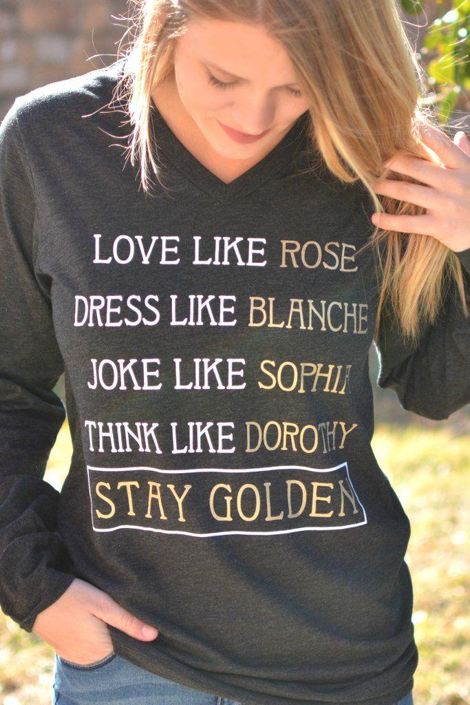 Stay Golden Long Sleeve
