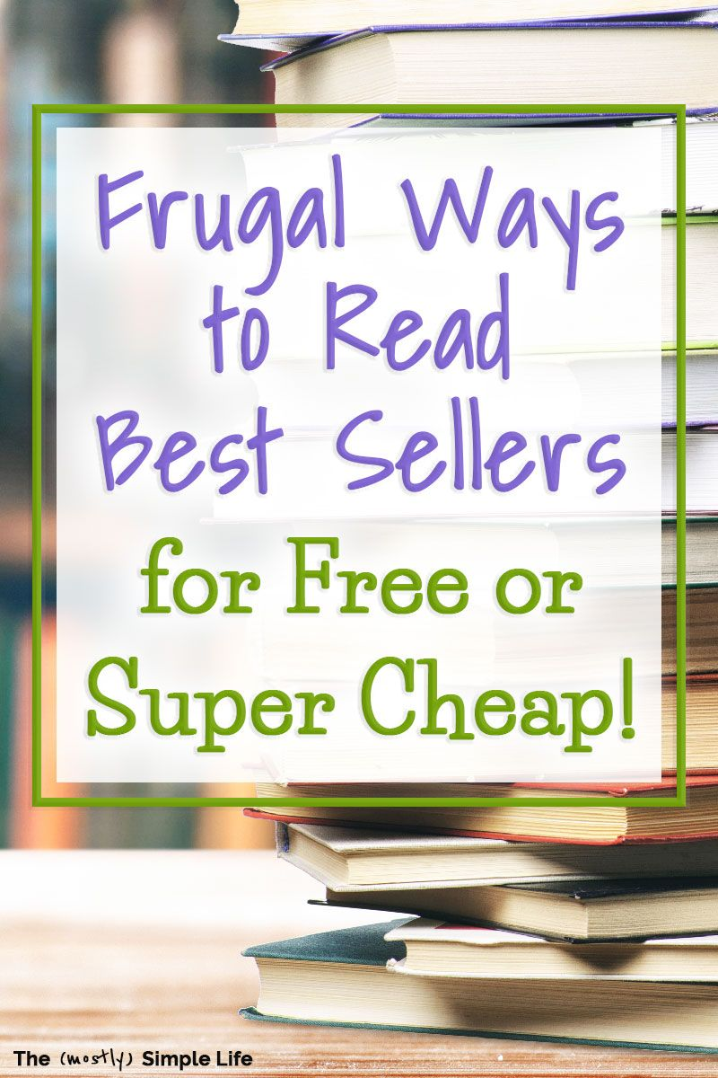 6 Free & Cheap Ways to Read Great Books Saving money
