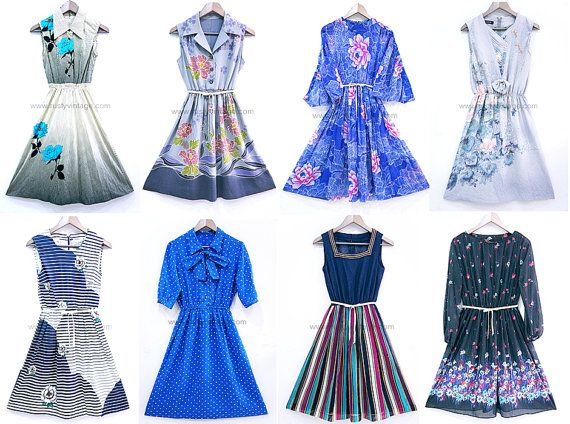 Japanese Vintage Wholesale Lot Of 10 Dresses For Resale Or Wear Womens Clothing Bulk Small Medium Large Clothes For Women Vintage Dresses Vintage Clothes Shop