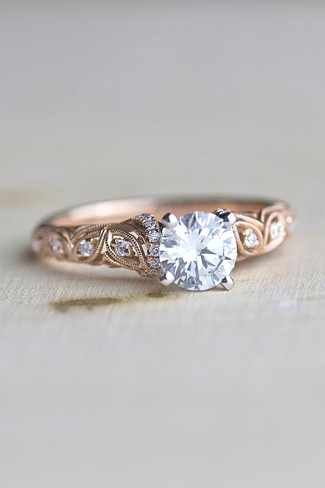 Vintage engagement rings new